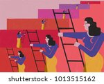 illustration that reflects the... | Shutterstock . vector #1013515162