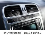 air vents in a car | Shutterstock . vector #1013515462