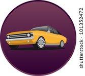 yellow car | Shutterstock . vector #101352472