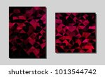 dark pinkvector brochure for ui ...
