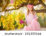 pretty kid fashion | Shutterstock . vector #101355166