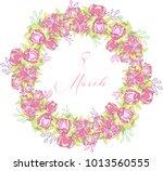 international women's day...   Shutterstock .eps vector #1013560555