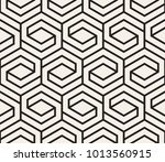 vector seamless pattern. modern ... | Shutterstock .eps vector #1013560915