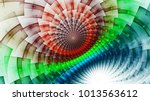 rainbow protective magnetic... | Shutterstock . vector #1013563612