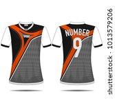 sport t shirt design. | Shutterstock .eps vector #1013579206