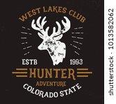 adventure club typography. t... | Shutterstock .eps vector #1013582062