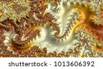 abstract computer generated... | Shutterstock . vector #1013606392