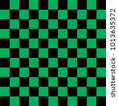 Black And Green Checkered...