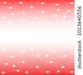 valentines day celebration... | Shutterstock . vector #1013640556