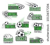 soccer cup championship icons... | Shutterstock .eps vector #1013657206