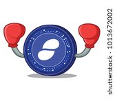 boxing status coin character... | Shutterstock .eps vector #1013672002