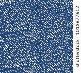 tie dye indigo seamless pattern.... | Shutterstock .eps vector #1013677612