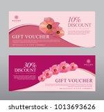 gift voucher for spa hotel... | Shutterstock .eps vector #1013693626