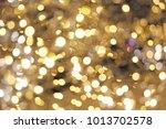 christmas lights background....   Shutterstock . vector #1013702578