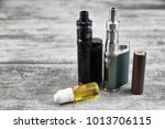 e   cigarette for vaping  ... | Shutterstock . vector #1013706115