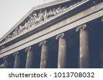 stone pillars columns | Shutterstock . vector #1013708032