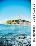 Mazatlan Mexico Light Blue Ocean - Fine Art prints