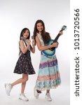 Asian Girl And Thai American...