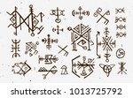 futhark norse islandic and...   Shutterstock .eps vector #1013725792