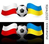 europe on football twenty... | Shutterstock . vector #101374456