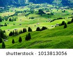 beautiful grindelwald bernese...   Shutterstock . vector #1013813056