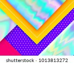 modern trendy abstract... | Shutterstock .eps vector #1013813272