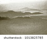 copy of old lithographic... | Shutterstock . vector #1013825785