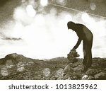 copy of old lithographic... | Shutterstock . vector #1013825962