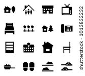 origami style icon set   home... | Shutterstock .eps vector #1013832232
