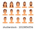 vector cartoon style... | Shutterstock .eps vector #1013856556