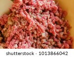 close up of front part meat... | Shutterstock . vector #1013866042