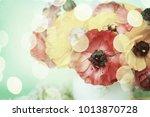 flowers background.spring... | Shutterstock . vector #1013870728