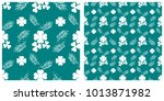 seamless pattern  for saint... | Shutterstock .eps vector #1013871982