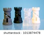 four objects photopolymer... | Shutterstock . vector #1013874478