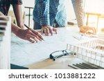 engineer meeting for...   Shutterstock . vector #1013881222