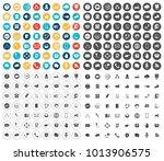 communication icons set | Shutterstock .eps vector #1013906575