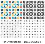 commerce icons set | Shutterstock .eps vector #1013906596