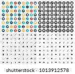 education icons set | Shutterstock .eps vector #1013912578