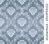 damask seamless pattern for... | Shutterstock .eps vector #1013933122