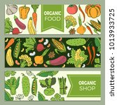 eat healthy food poster with... | Shutterstock .eps vector #1013933725