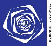 rose. vector flower. beautiful...   Shutterstock .eps vector #1013934922