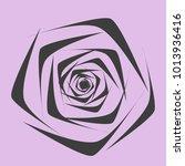 rose. vector flower. beautiful...   Shutterstock .eps vector #1013936416