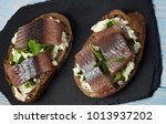 delicious sandwiches with... | Shutterstock . vector #1013937202
