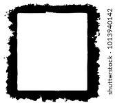 grunge halftone black and white ... | Shutterstock .eps vector #1013940142