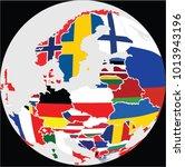 europe map vector | Shutterstock .eps vector #1013943196