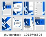 abstract vector layout... | Shutterstock .eps vector #1013946505