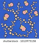 hand made drawing   Shutterstock . vector #1013975158