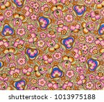 hand made drawing   Shutterstock . vector #1013975188