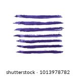 hand paint watercolor wave... | Shutterstock . vector #1013978782