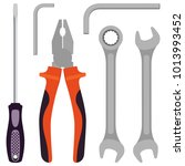 Set Of Tools For Carpentry...